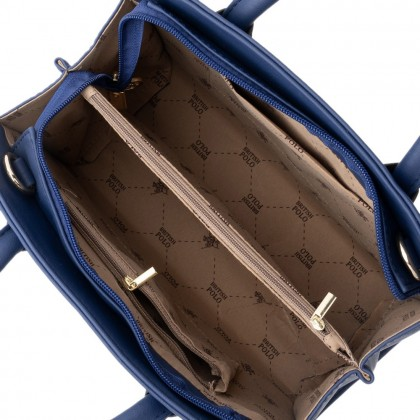 British Polo Top Handle Bag