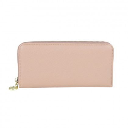 British Polo Simple Long Zip Purse
