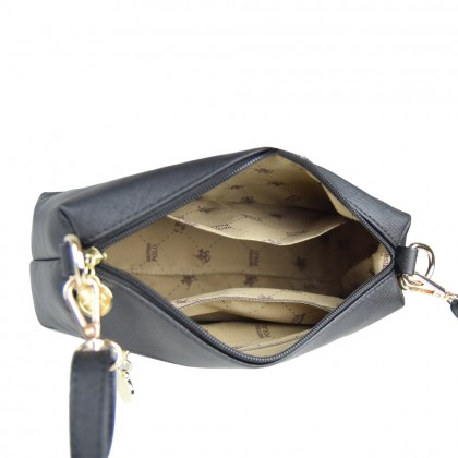 British Polo Linen Sling Bag