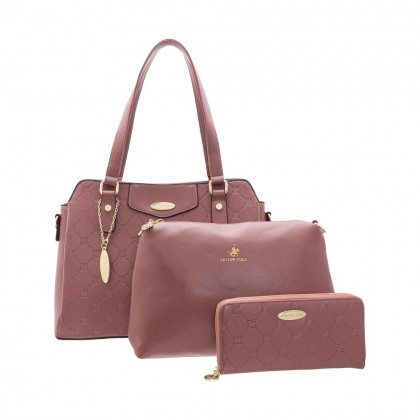 British Polo Combo Handbag SET