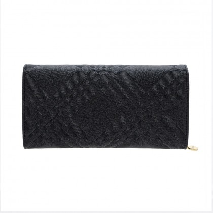 British Polo Cro-Effect Flap Purse