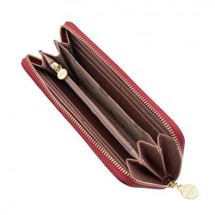 British Polo Long Zip Purse