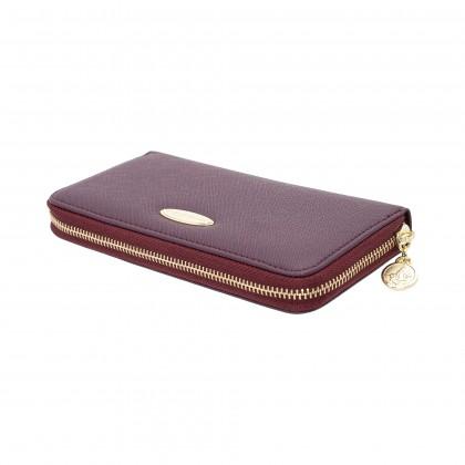 British Polo Downward Zipped Wallet