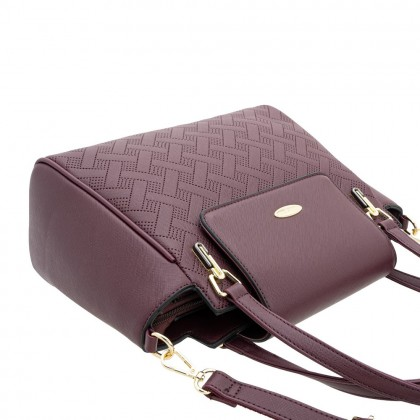British Polo Woven Flap Handbag