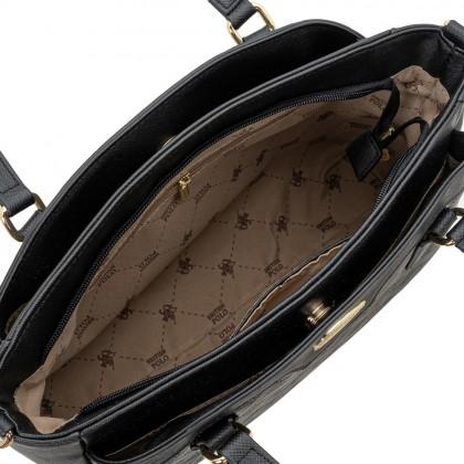 British Polo Woven Tote Handbag