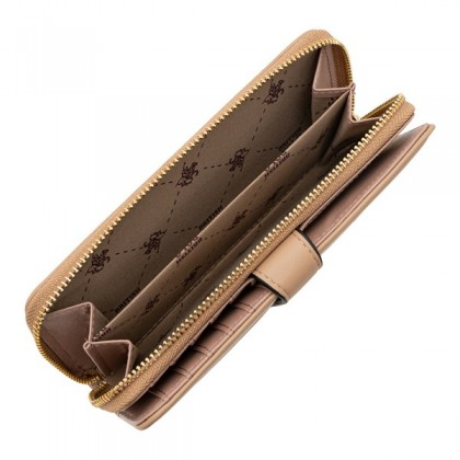 British Polo Brick Double Wallet