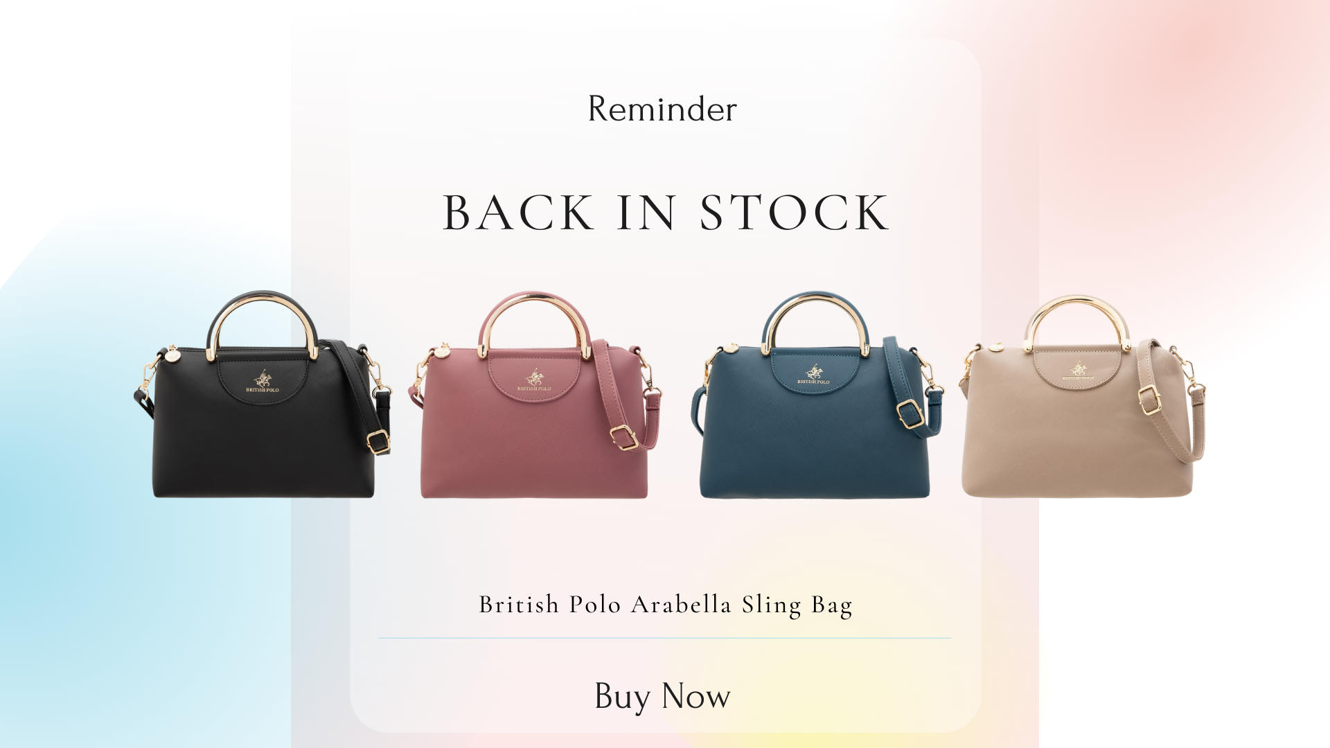 British Polo Arabella Sling Bag
