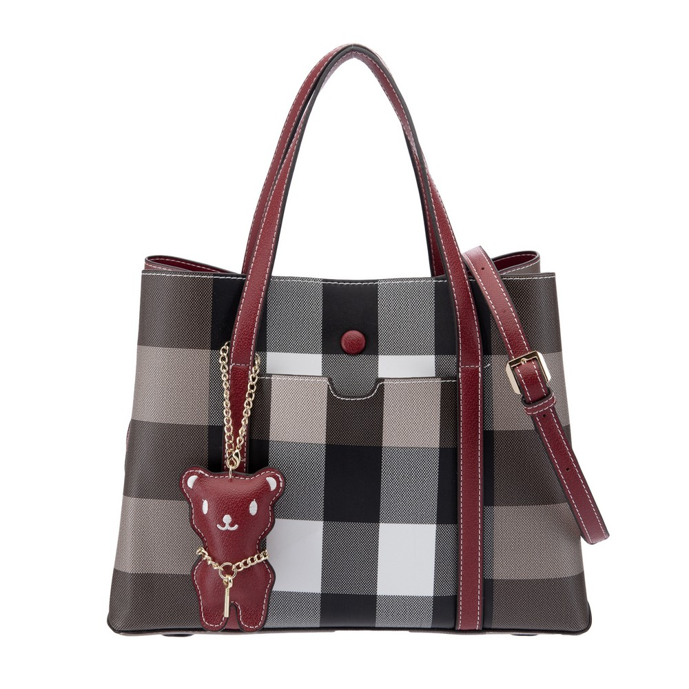 74f682eac5 British Polo Bean Bear Tote & Sling Bag