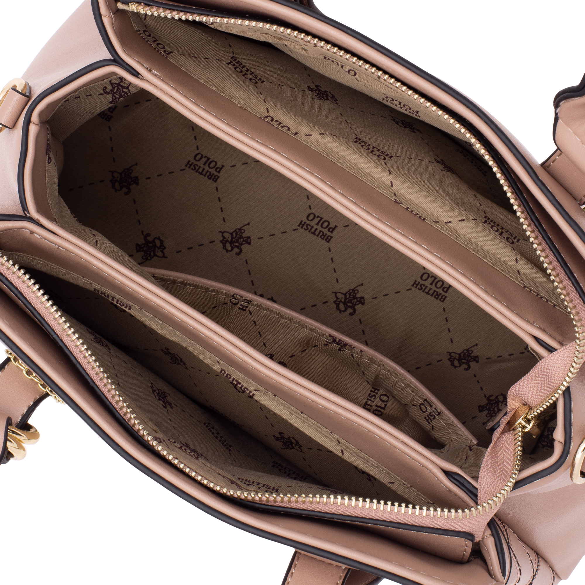 British Polo Classic Plaid Tote & Sling Bag