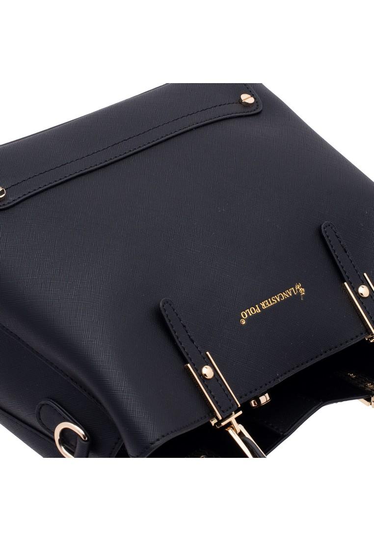 LancasterPolo Stud Detail Tote & Sling Bag