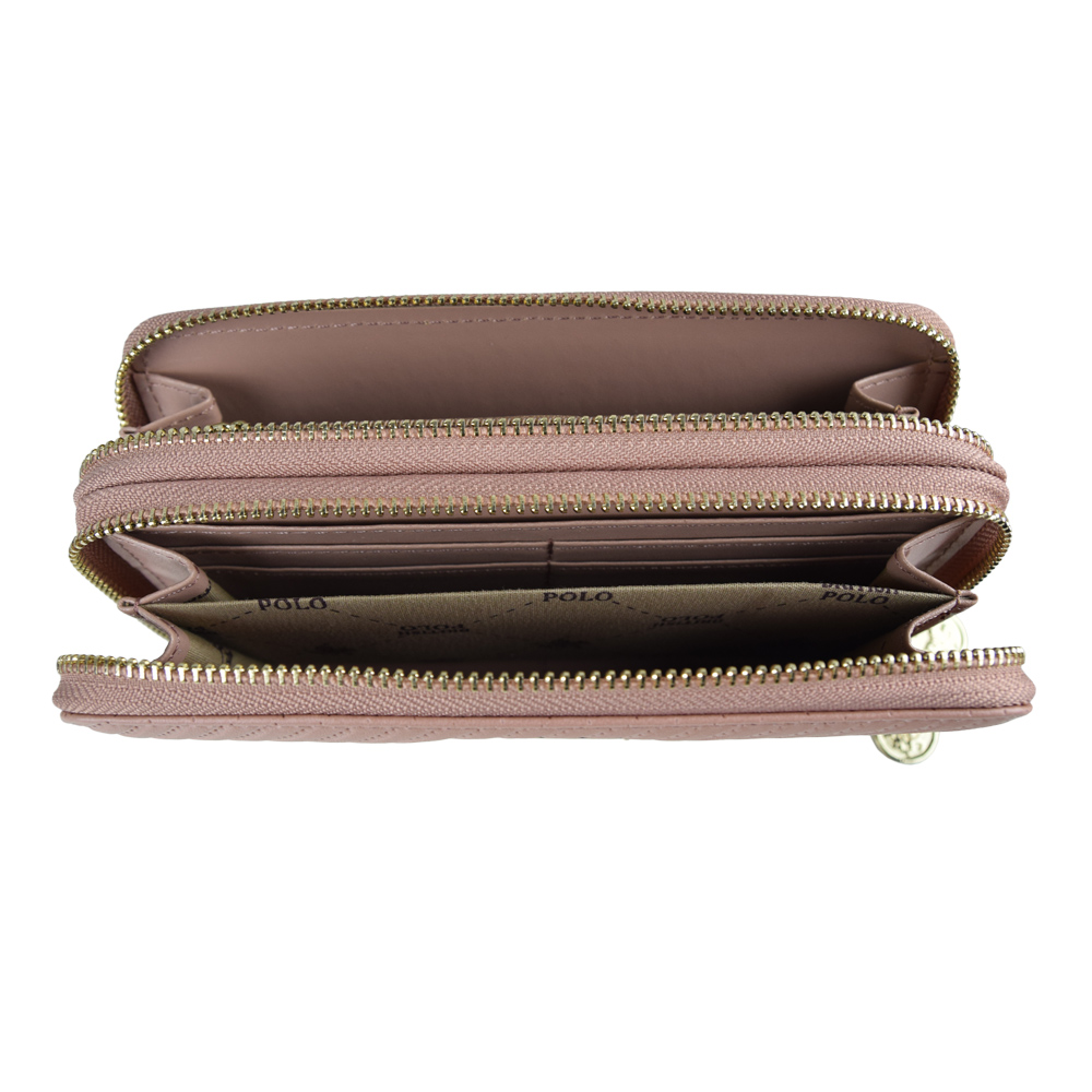 Tracey Star Latest Fringe Double Zip Purse