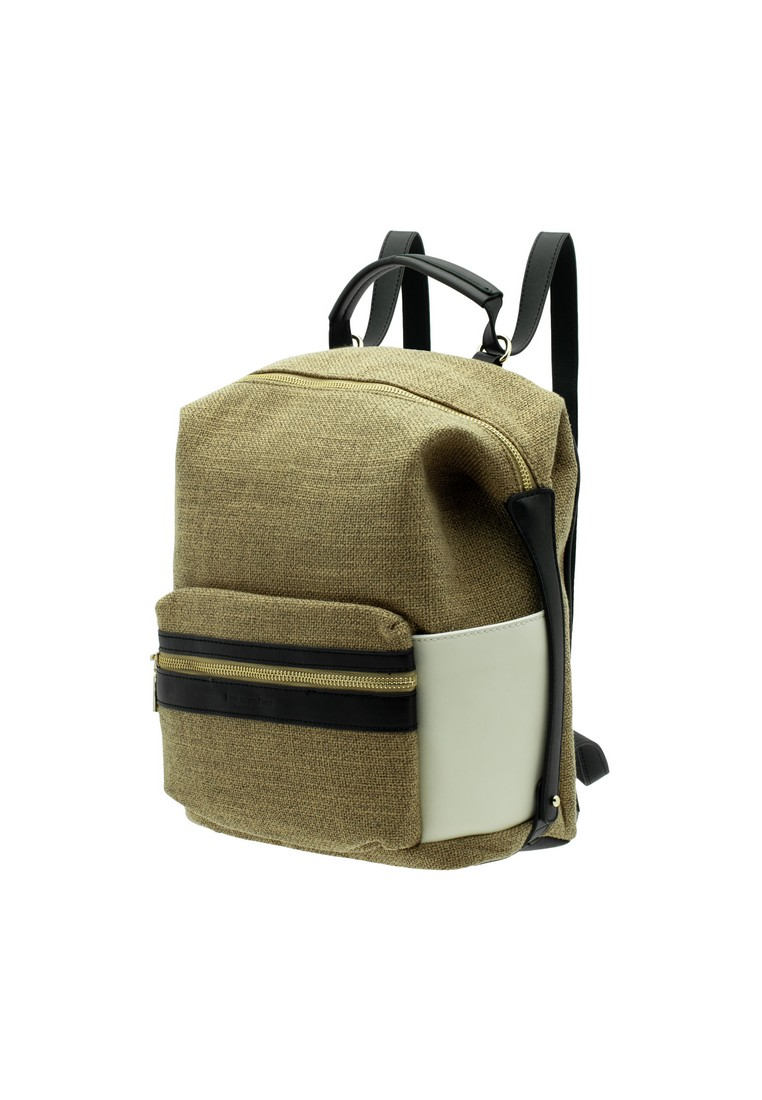 Back to School Linen Backpack