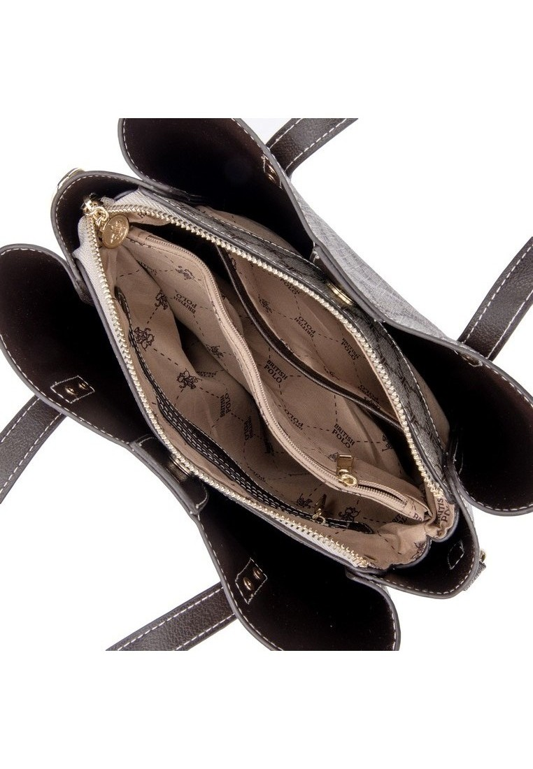 British Polo Bean Bear Tote & Sling Bag (SET)