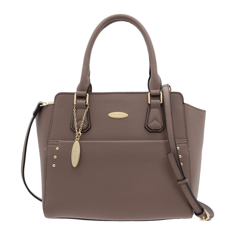 British Polo Embellished Tote Bag