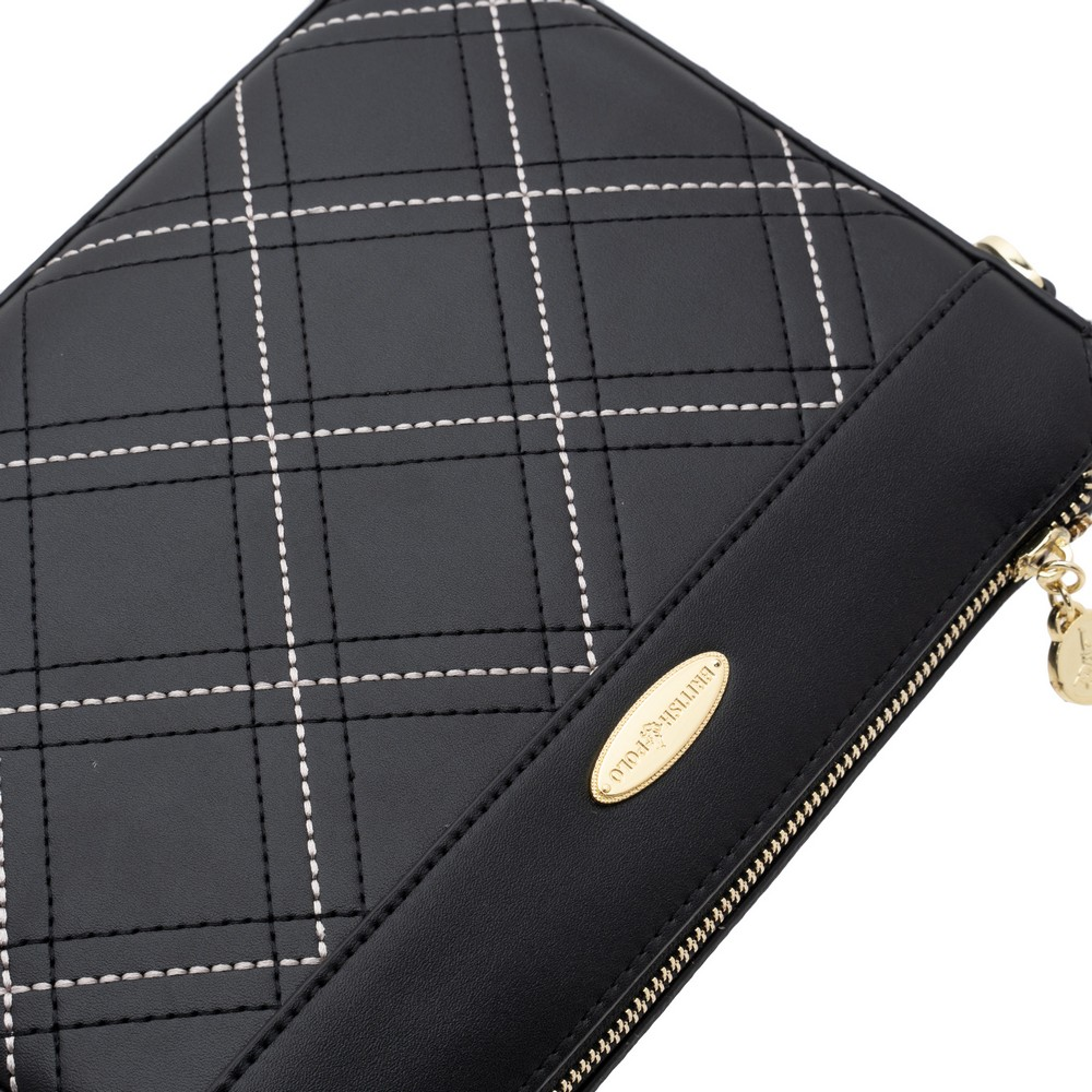 British Polo Check Sling Bag