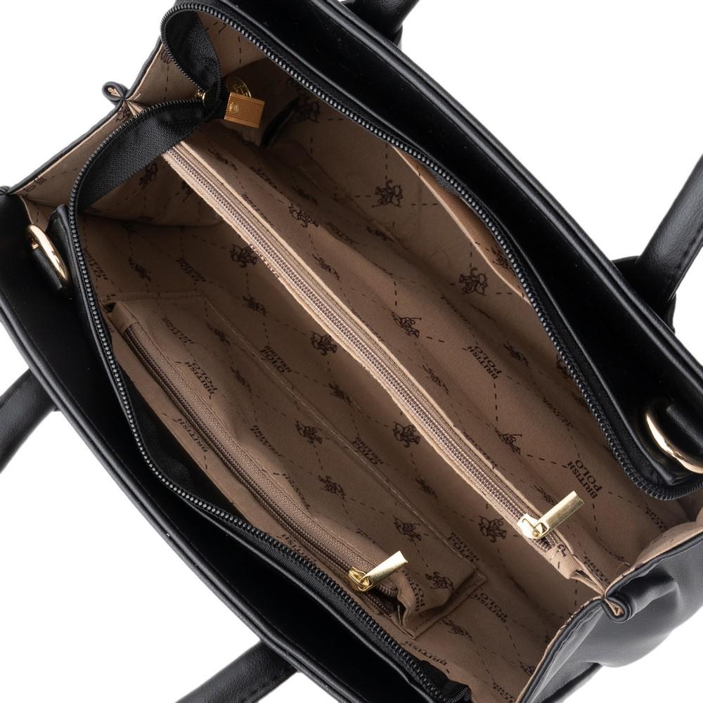 British Polo Top Handle Bag