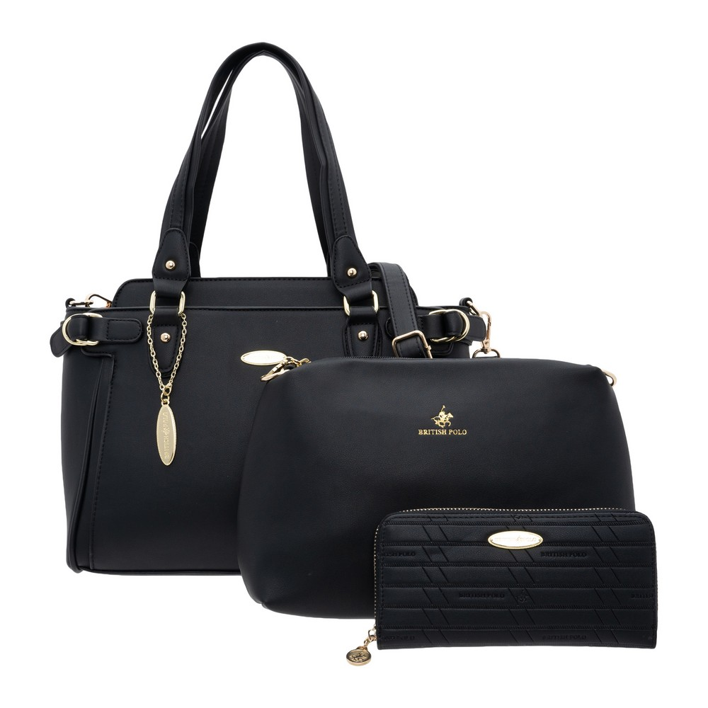 British Polo Classic Shoudle Bag Set