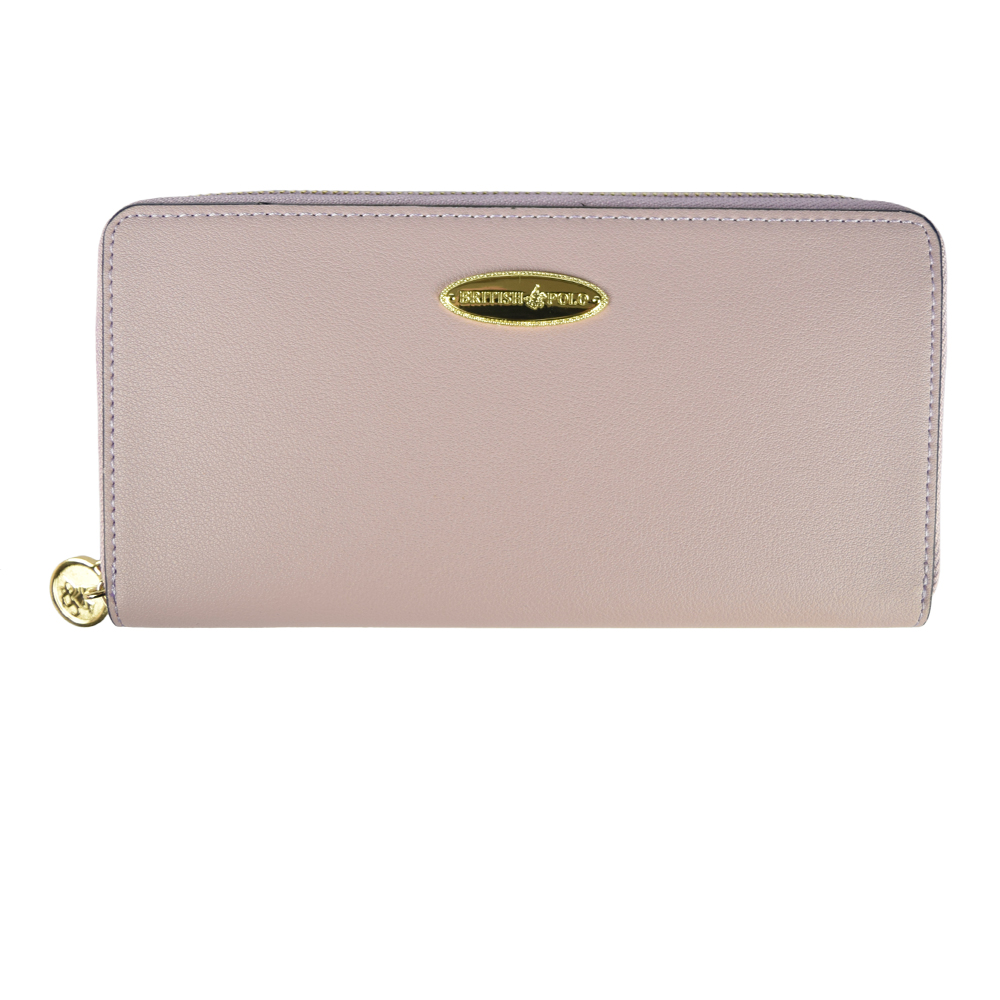 British Polo Simple Zip Purse