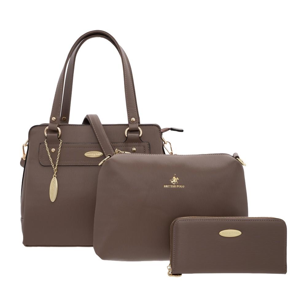 British Polo  Fendi 3 in 1 Bag Set