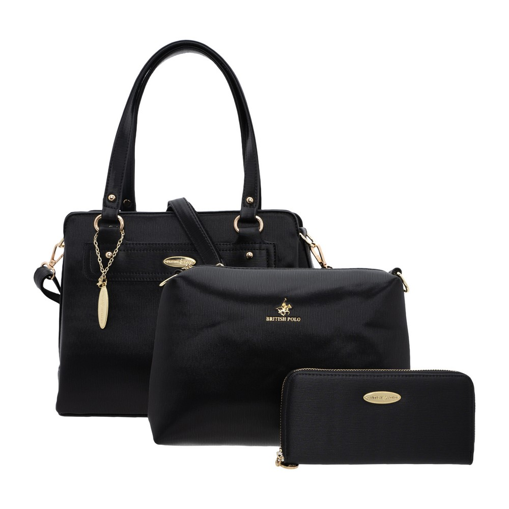 British Polo  Fendi 3 in 1 Bag Set