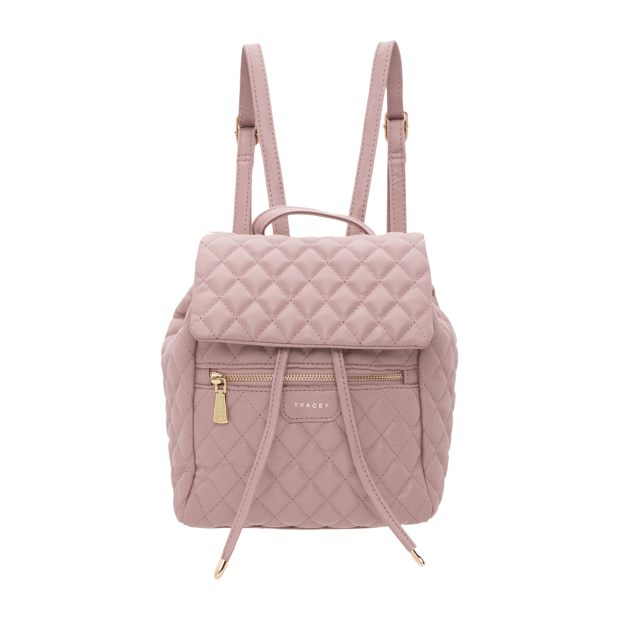 Tracey Quilted Flip Backpack Bag