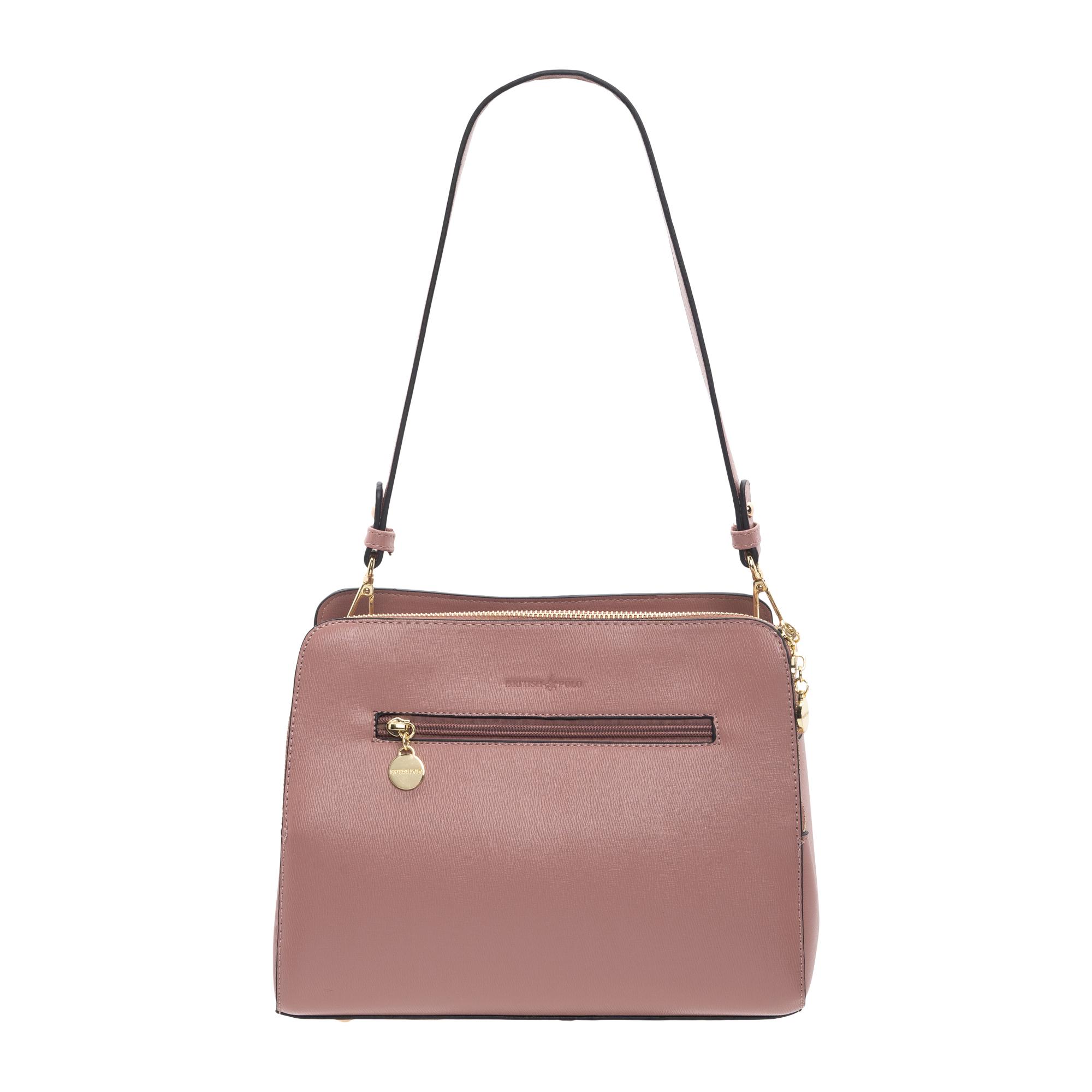 British Polo Floral Design Shoulder Bag