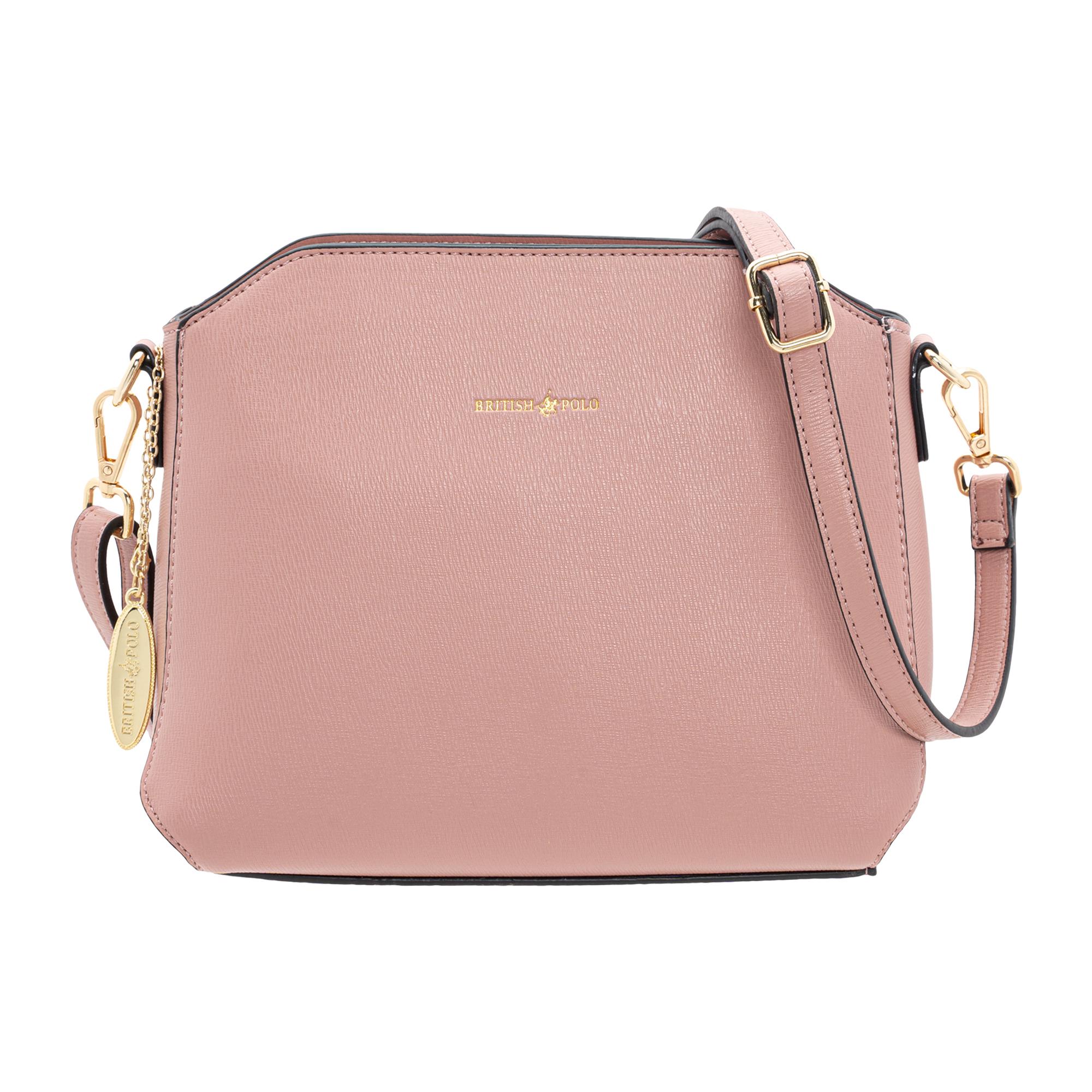 British Polo Frame Top Handle Bag