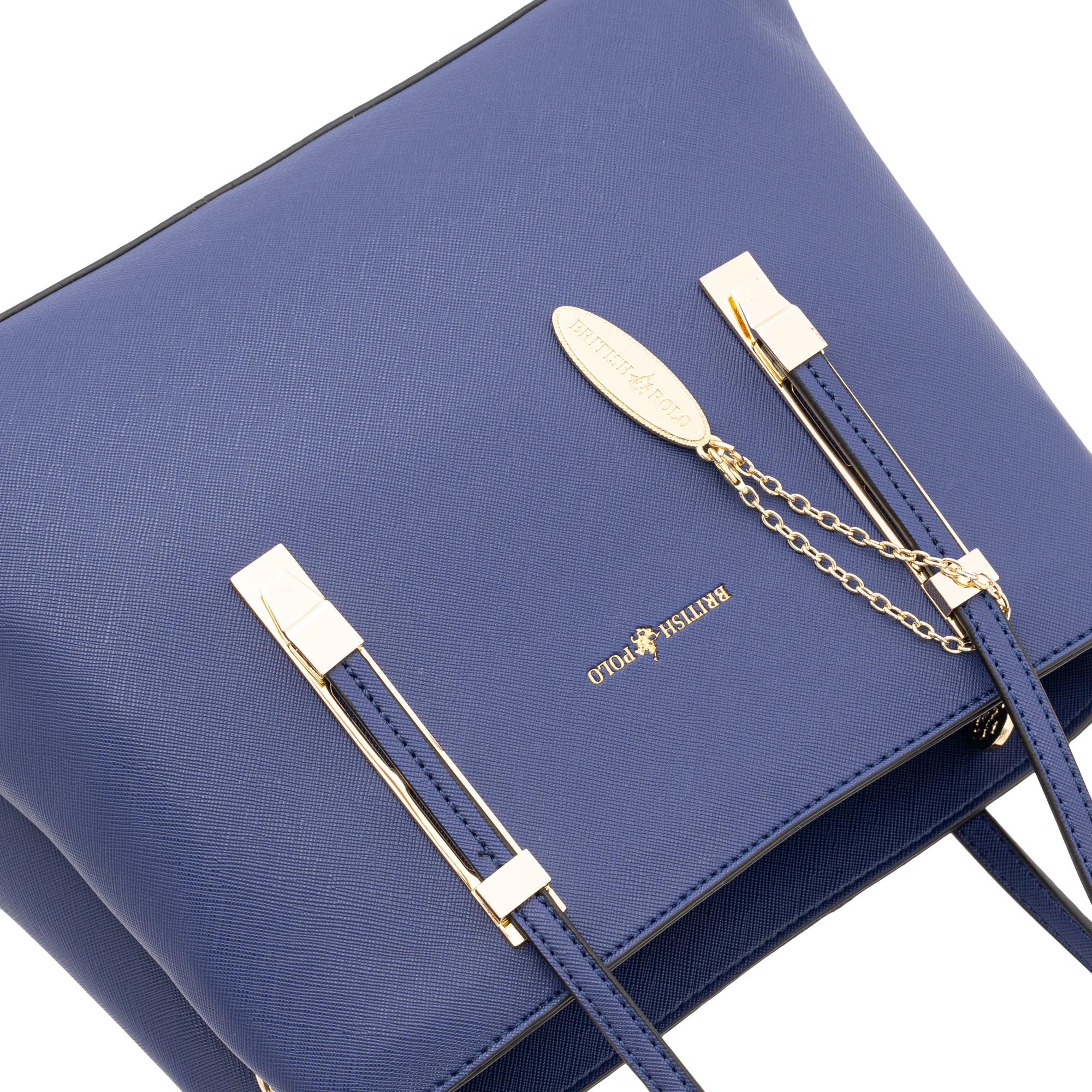 British Polo Angular Shoulder Bag
