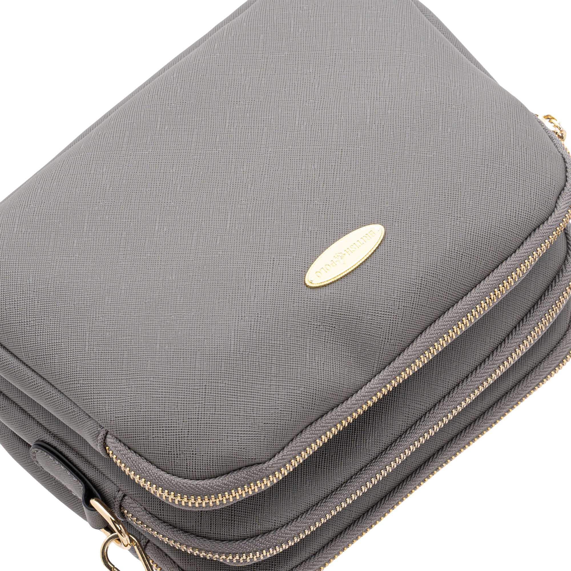 British Polo Square Crossbody Bag