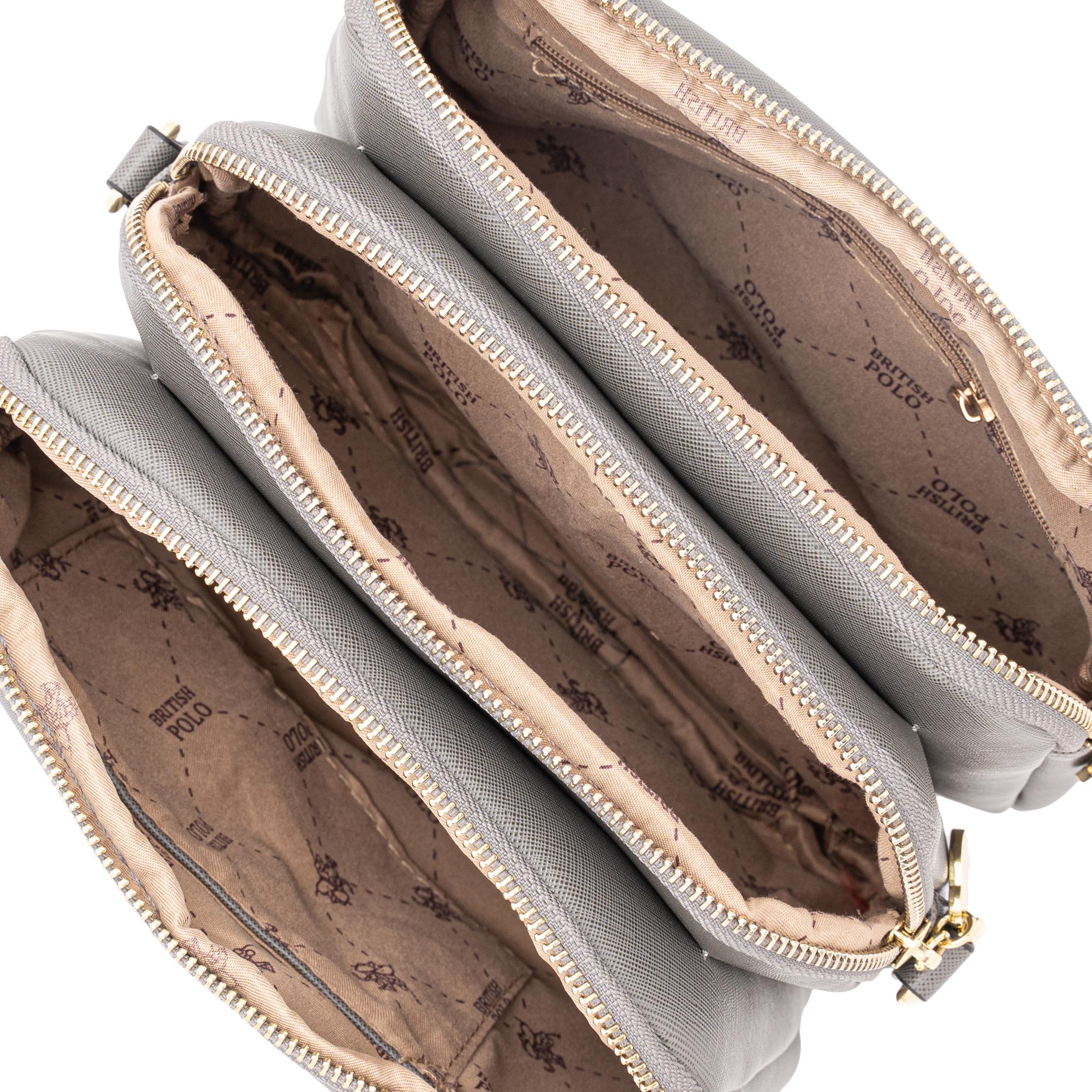 British Polo Square Crossbody Bag
