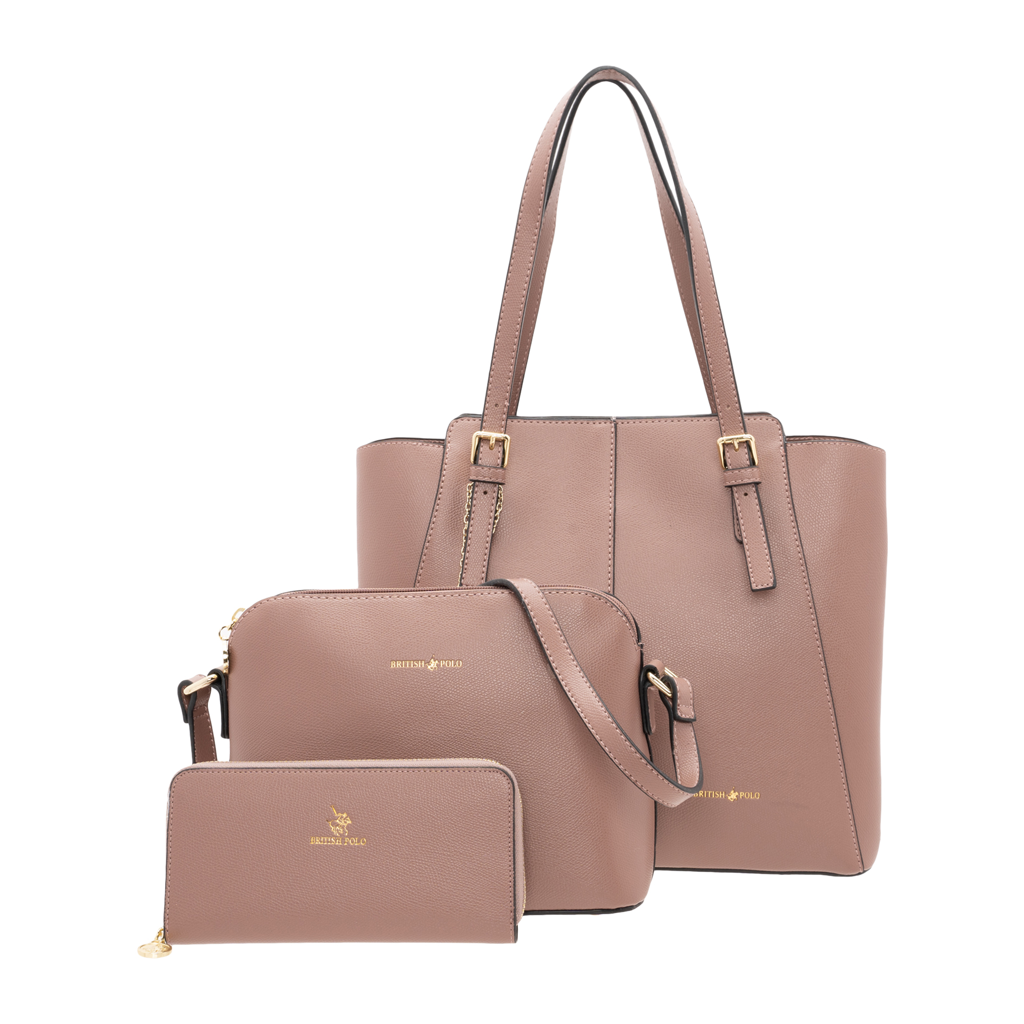 British Polo Authentics (II) 3 In 1 Bag Set