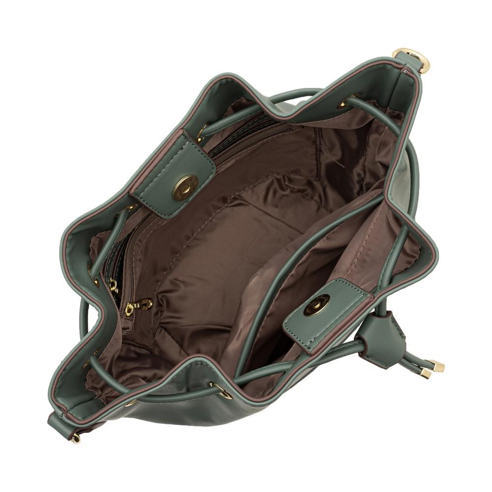 Tracey Check Drawstring Bag