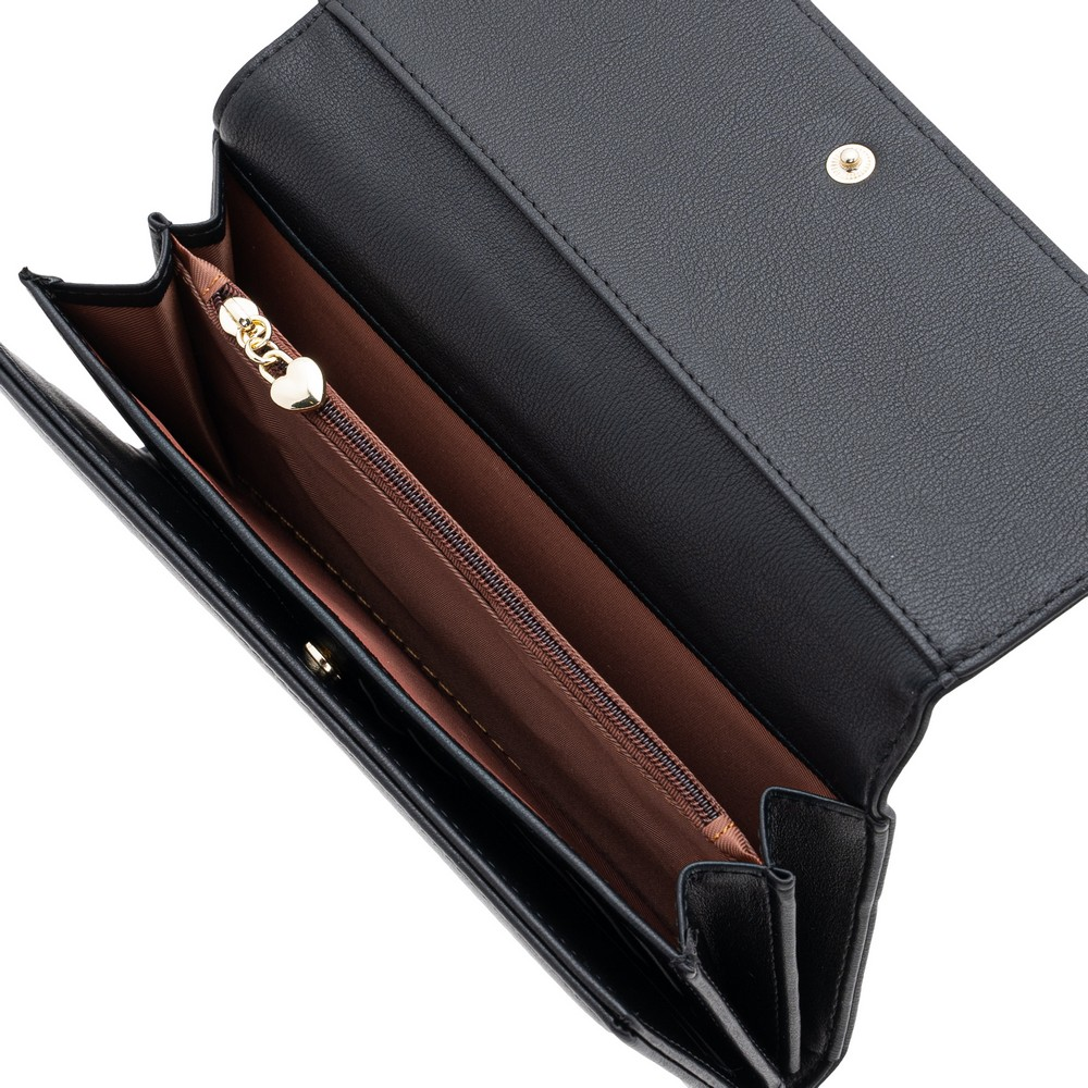 Tracey Large L-Zip Flap Wallet