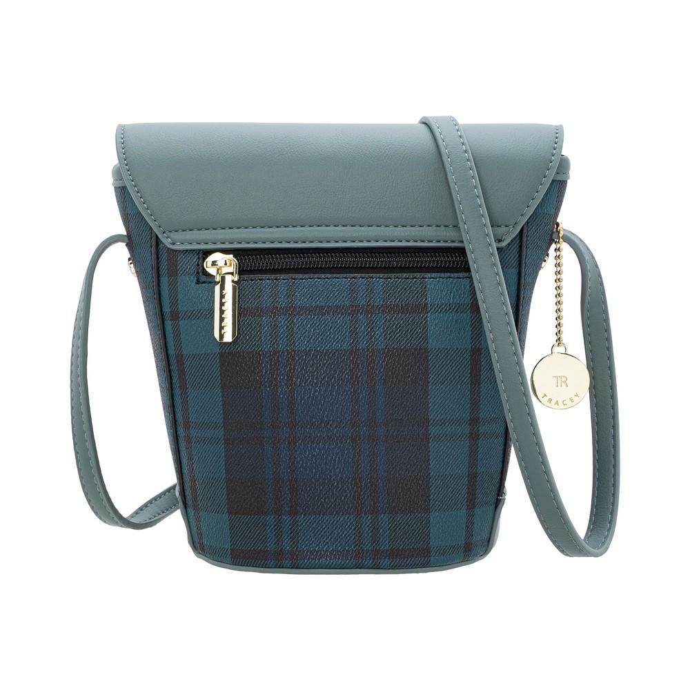 Tracey Check Mini Bucket Bag