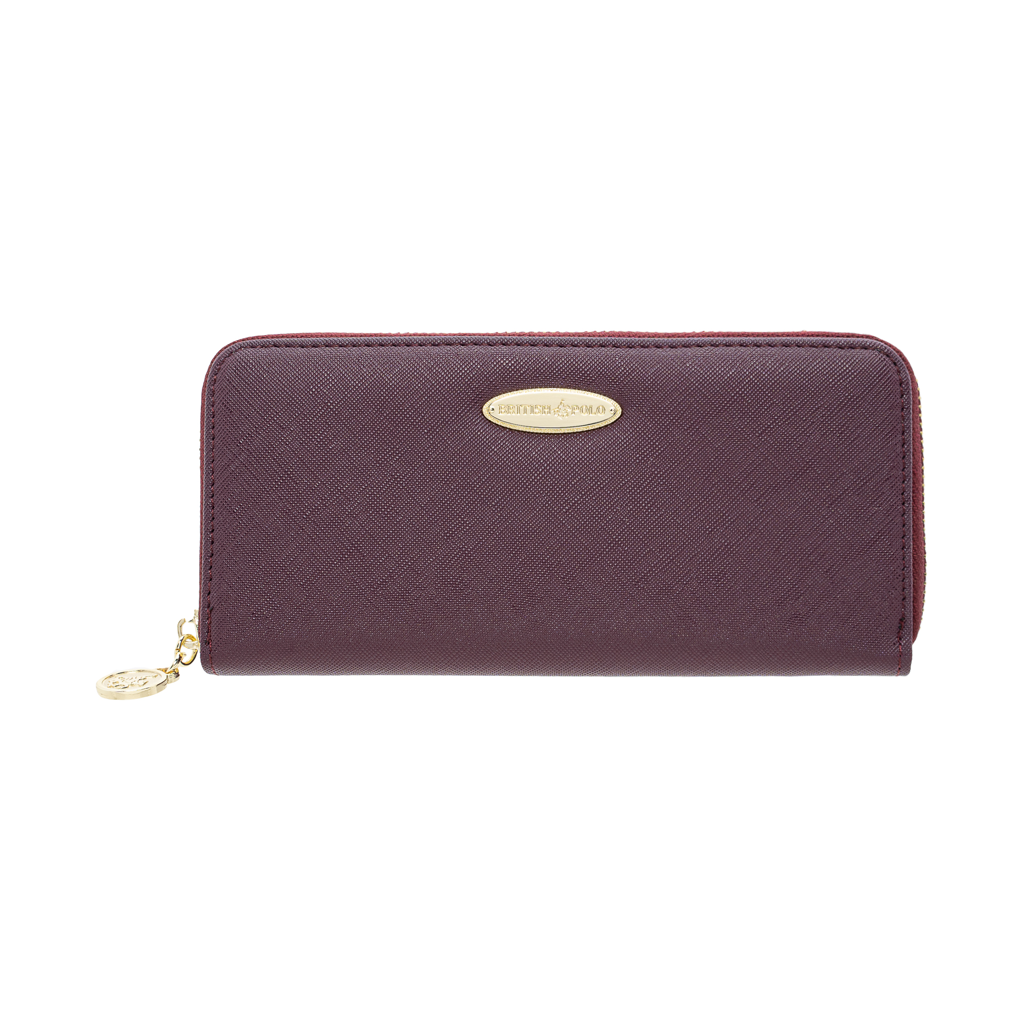 British Polo Downward Zipped Wallet