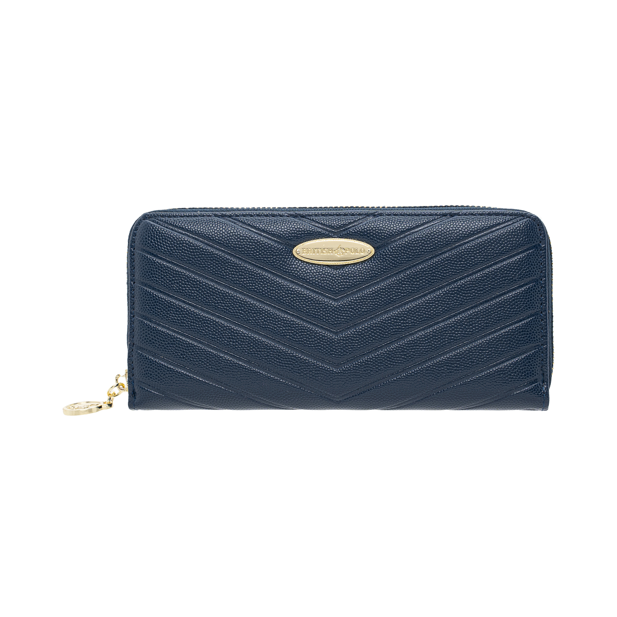 British Polo Pointy Stripes Wallet