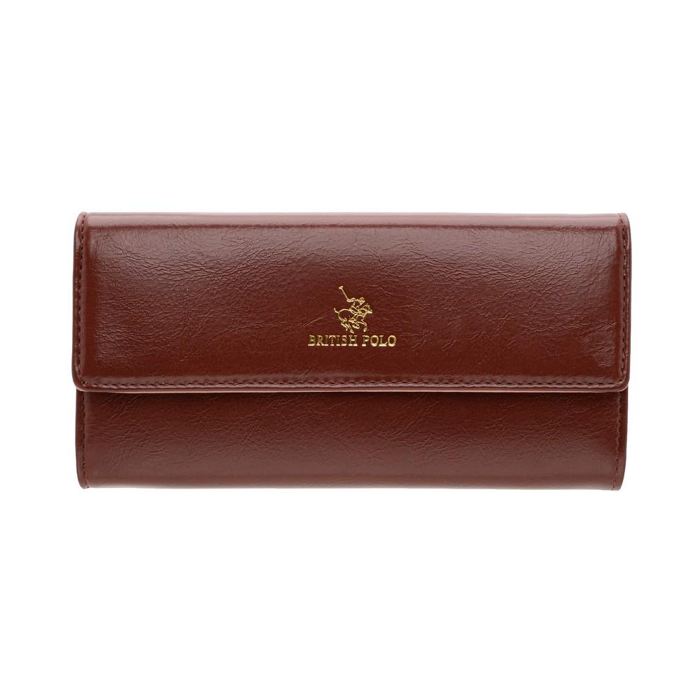 British Polo Shine Flap Wallet