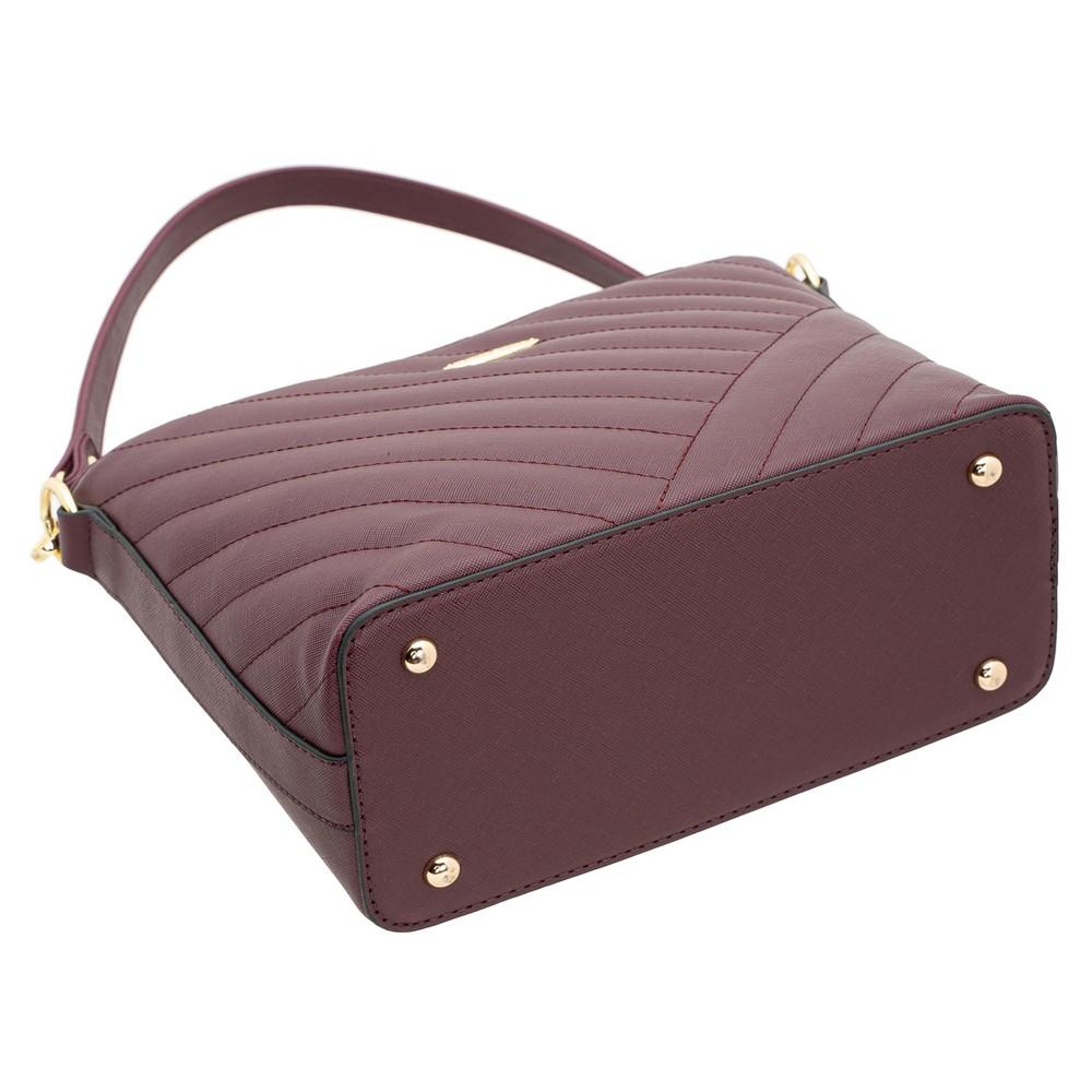 British Polo Woven Bucket Handbag
