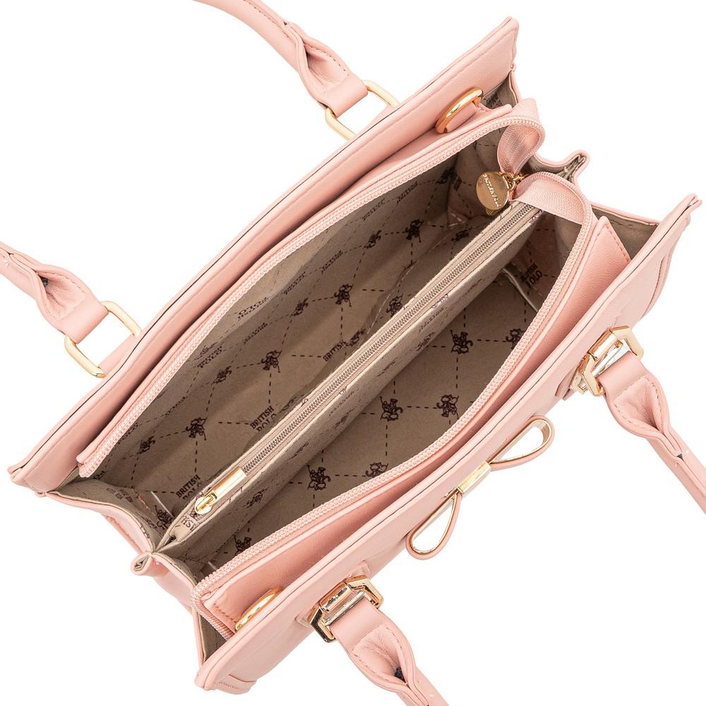 British Polo Sweet Ribbon Handbag