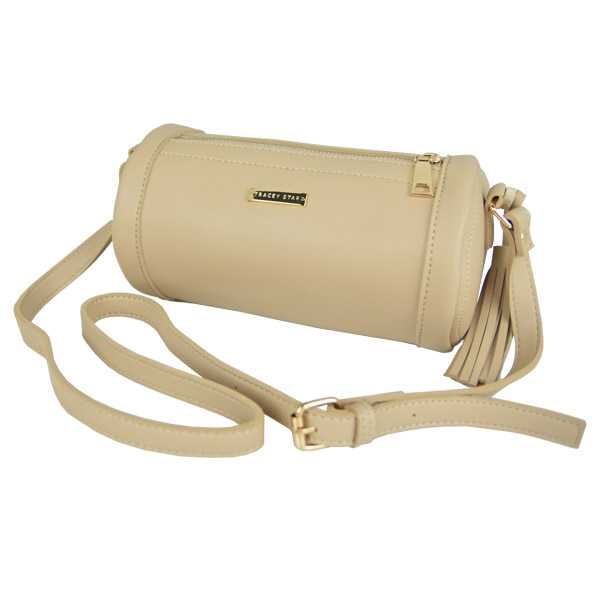 Tracey Star Women Fashion Korean Style Sling Bag (Beige)