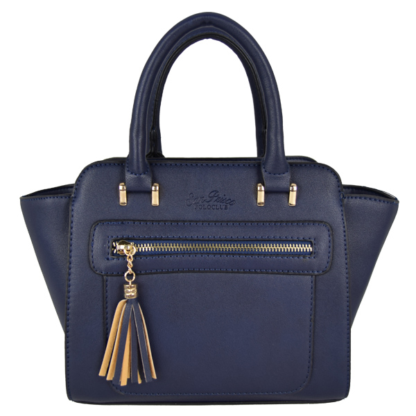 San Prisco Poloclub Women 2 Ways use Tote & Sling Bag(Blue)