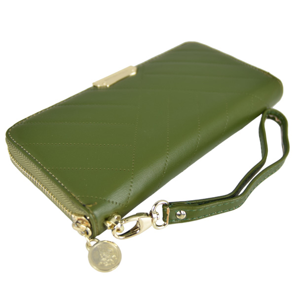 British Polo PU Leather Purses (Green)