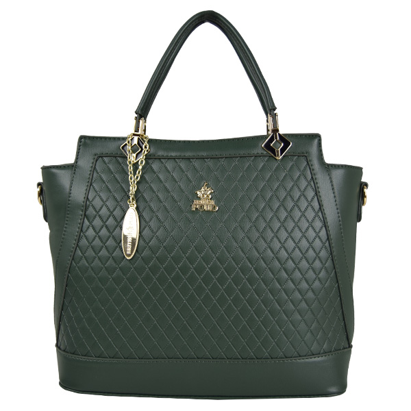 British Polo Diamond Print Elegant Bag