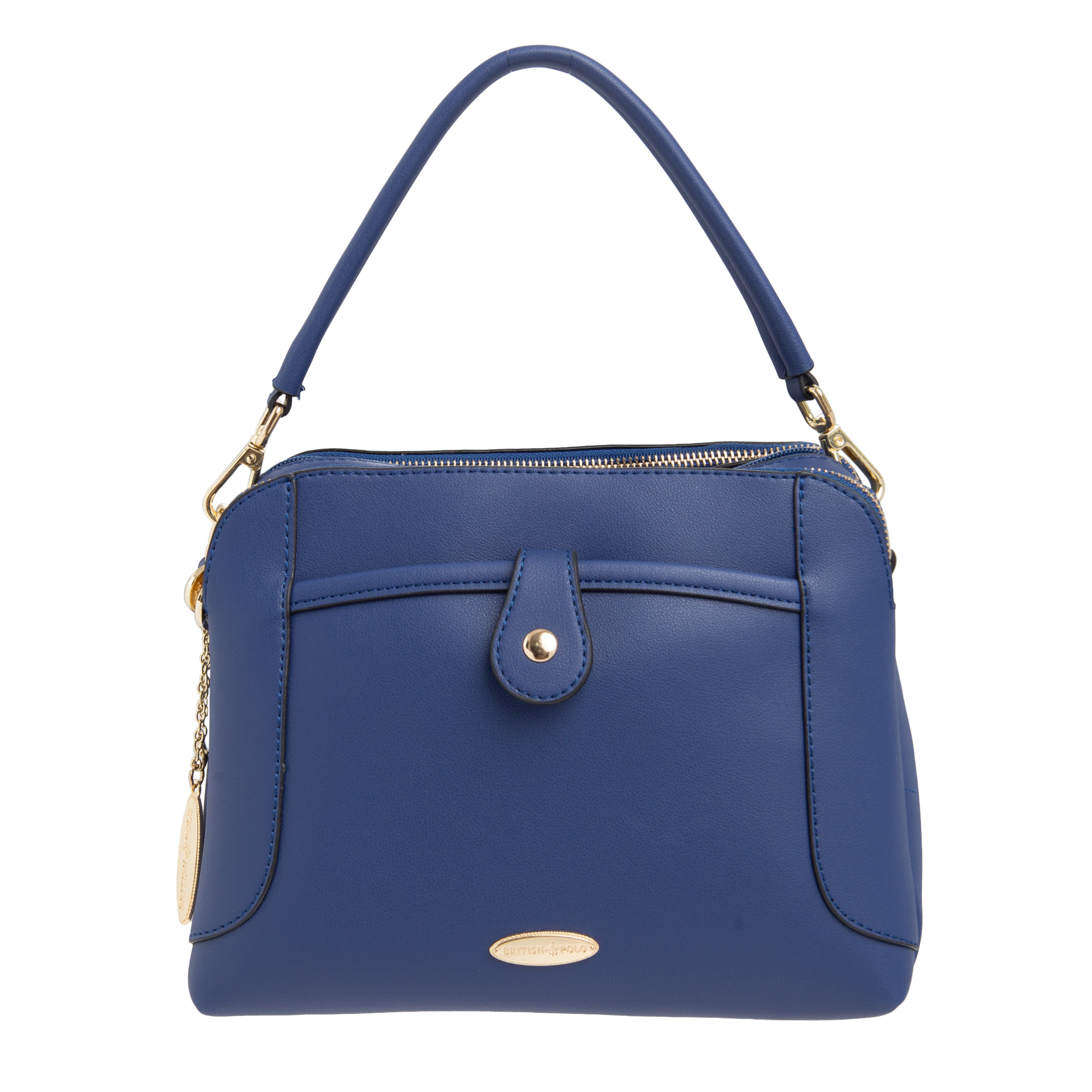 Clickasia New Arrival Mamypoko Tape Small Packet British Polo Pu Leather Cross Body Bag